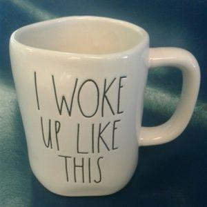 Rae Dunn mug ' I WOKE UP LIKE THIS '